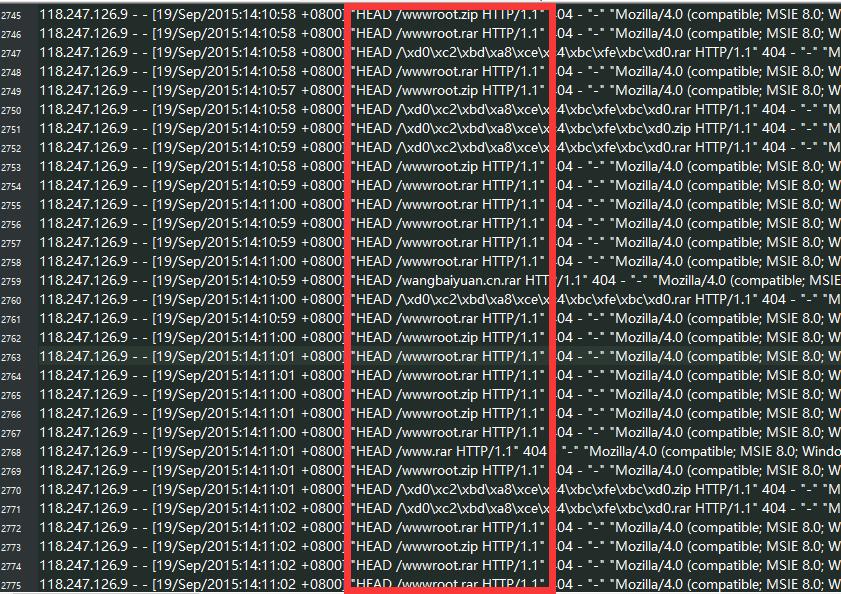 遭受恶意扫描下载zip攻击的惊险之旅