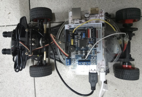 [3] System architecture and assembly - Smart car under Pcduino platform
