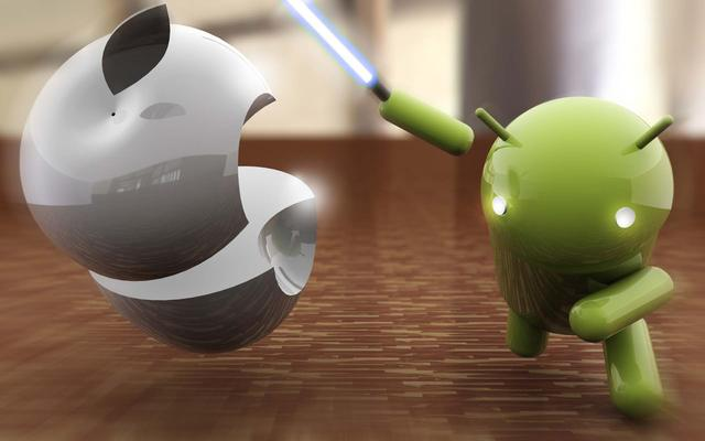 Why doesn't the Android machine have a smooth iPhone?